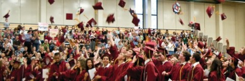 Photo of CV graduation