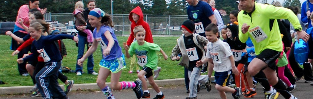 Spring for Kids Run/Walk, Corvallis OR